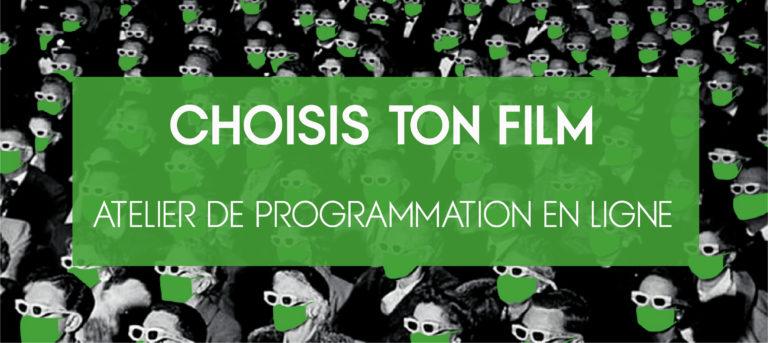 Choisis ton film - Atelier de programmation en ligne